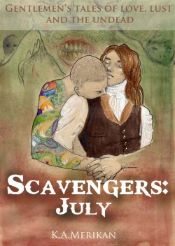 """Scavengers: July"" cover by Kat Merikan"