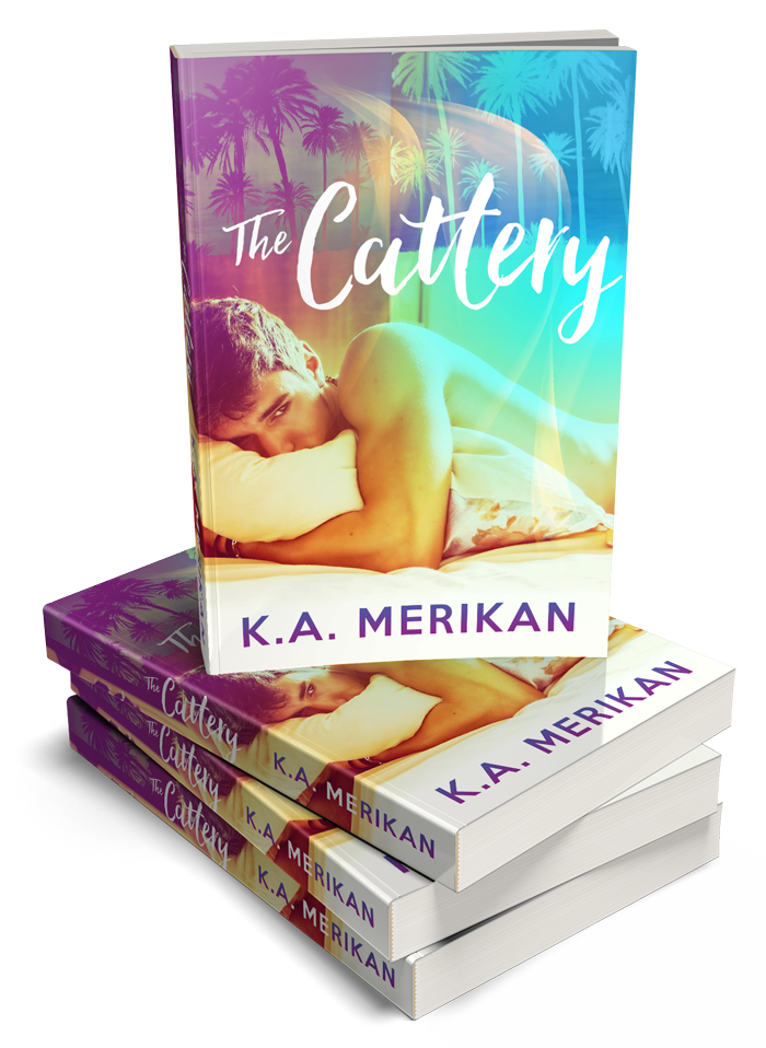TheCattery-3Dbookstack