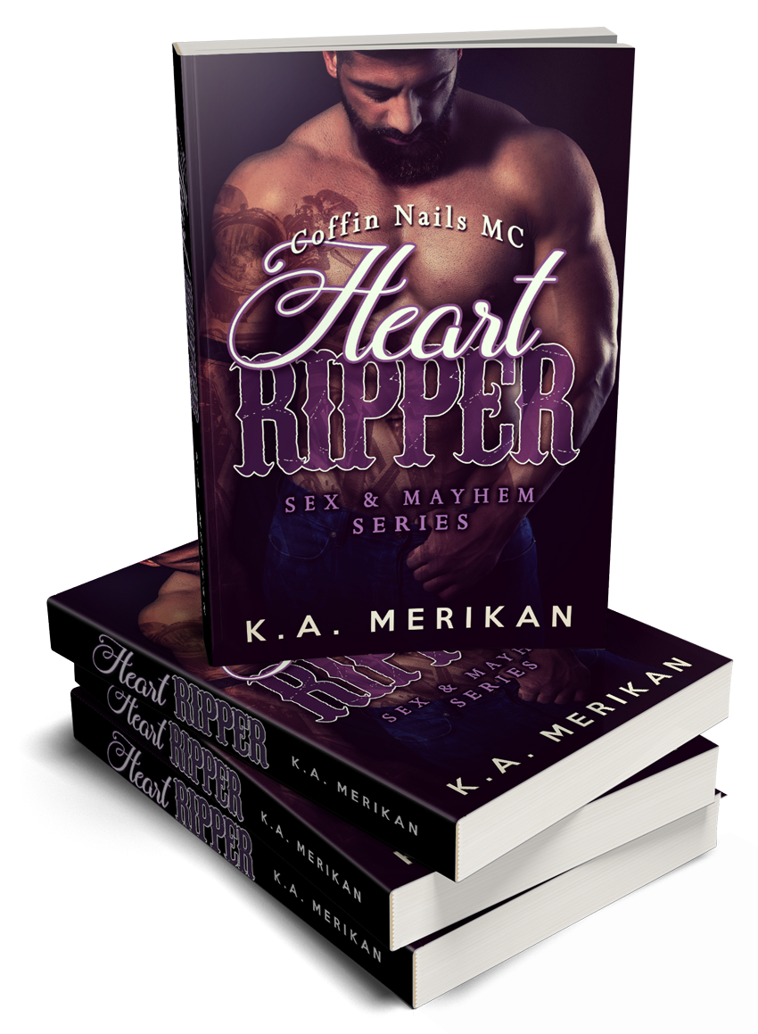 HeartRipper-3DBook-Stack